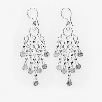 Sparkles Large Glamour Earrings