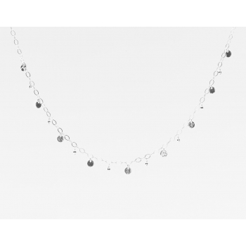 Sparkles Necklace Silver