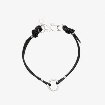 Simply Round Leather Bracelet