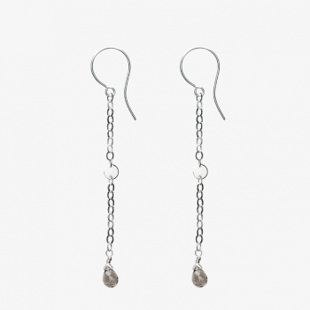 Sexy Gems Earrings Smoky Quartz