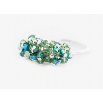 Glamour Ring Green