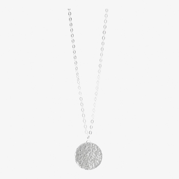 Moon Disc Necklace (Personalisable)