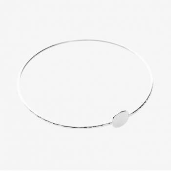 Moon Disc Bangle