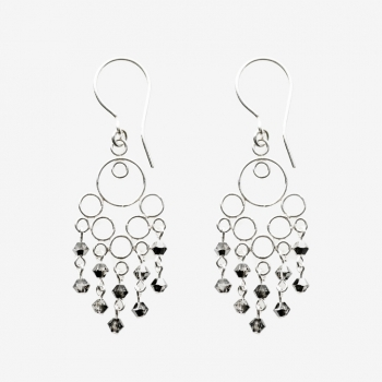 Glamour Small Earrings Black