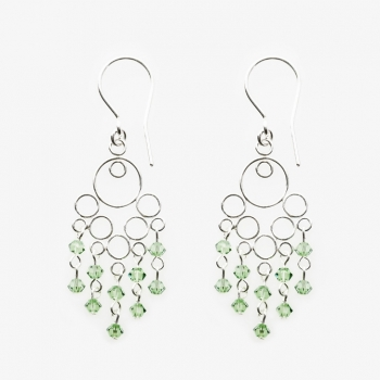 Glamour Small Earrings Peridot