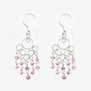 Glamour Small Earrings Rose