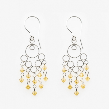 Glamour Small Earrings Yellow