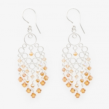 Glamour Medium Earrings Cobre