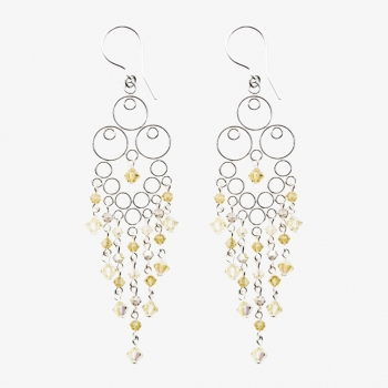 Glamour Large Earrings Yellow