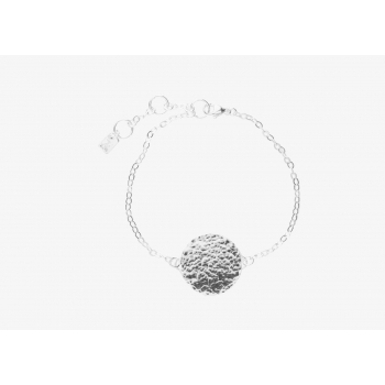 Large Moon Disc Bracelet (Personalisable)