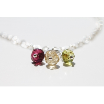 "3 is a Charm ""Sand Berries"" Necklace"