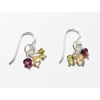 "3 is a Charm ""Sand Berries"" Earrings"